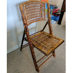 SOLD 5 bamboo folding chairs - $75