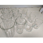 glasses sets - prices as noted on catalog page
